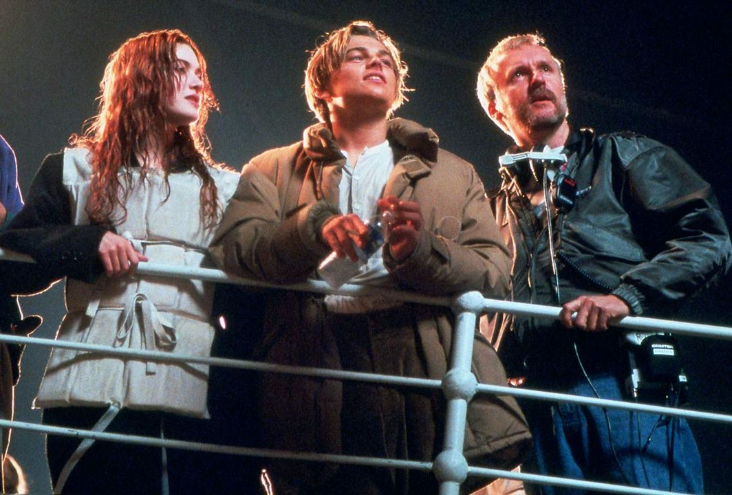 photo de leonardo dicaprio titanic photo james cameron