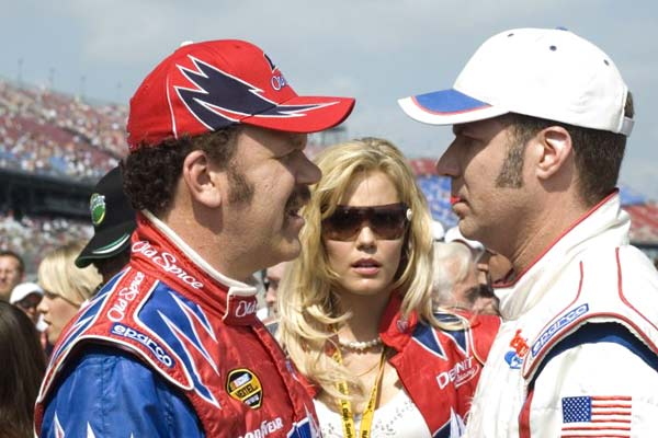 Ricky Bobby : roi du circuit : Photo John C. Reilly, Leslie Bibb, Will Ferrell