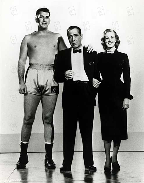 Plus dure sera la chute : Photo Humphrey Bogart, Jan Sterling, Mark Robson, Mike Lane