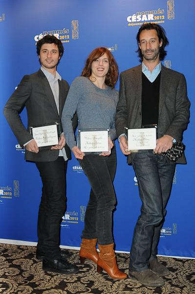 Photo Edouard Weil, Jérémie Elkaïm, Valérie Donzelli