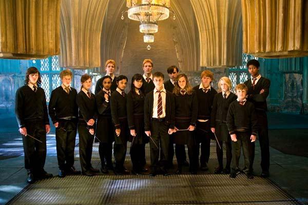 Harry Potter et l'Ordre du Phénix : Photo Afshan Azad, Bonnie Wright, Daniel Radcliffe, Emma Watson, Evanna Lynch