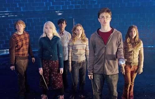 Harry Potter et l'Ordre du Phénix : Photo Daniel Radcliffe, Emma Watson, Evanna Lynch, Rupert Grint