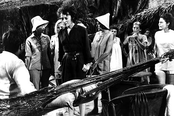 La Nuit de l'iguane : Photo Ava Gardner, Grayson Hall, John Huston