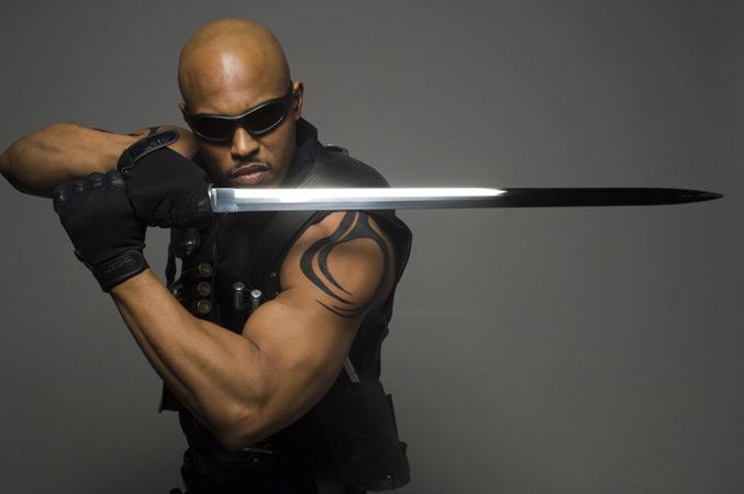 Blade : Photo Sticky Fingaz