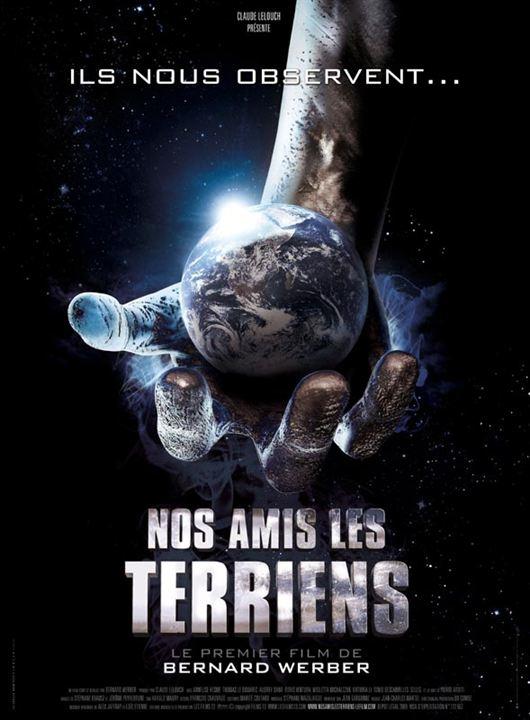 Nos amis les Terriens : affiche Bernard Werber