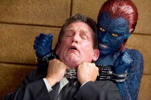 X-Men l'affrontement final : Photo Anthony Heald, Rebecca Romijn