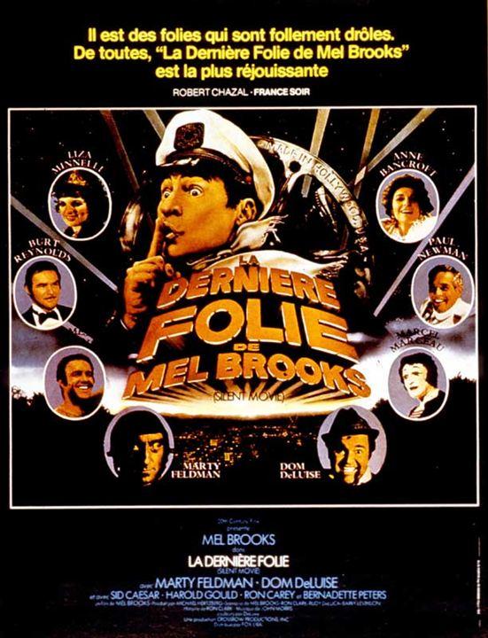 La Dernière folie de Mel Brooks : Affiche Anne Bancroft, Dom DeLuise, Liza Minnelli, Marcel Marceau, Marty Feldman