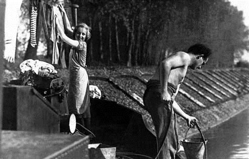 L'Atalante : Photo Dita Parlo, Jean Dasté, Jean Vigo