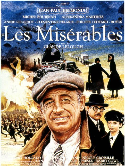 Les Misérables : Affiche Claude Lelouch