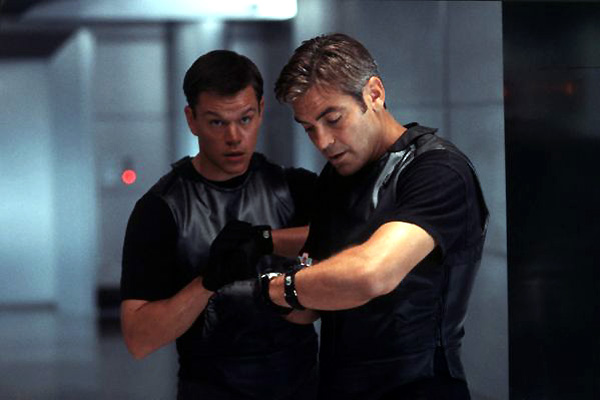 Ocean's Eleven : Photo George Clooney, Matt Damon
