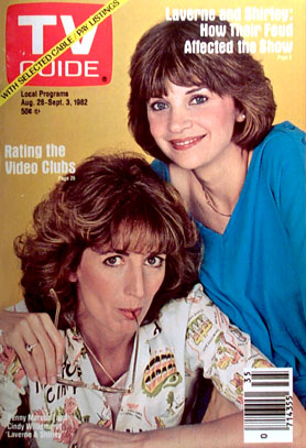 Laverne & Shirley : Photo Cindy Williams, Penny Marshall
