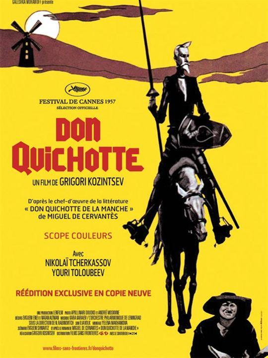 Don Quichotte : Affiche Grigori Kozintsev