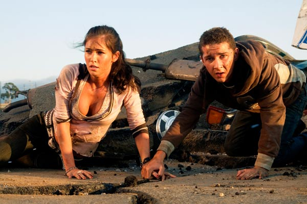 Transformers : Photo Megan Fox, Shia LaBeouf
