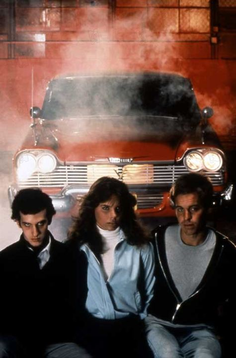 Christine : Photo Alexandra Paul, John Carpenter, John Stockwell, Keith Gordon