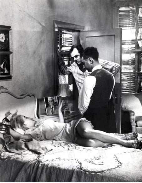 La Poupée de chair : Photo Carroll Baker, Elia Kazan, Karl Malden