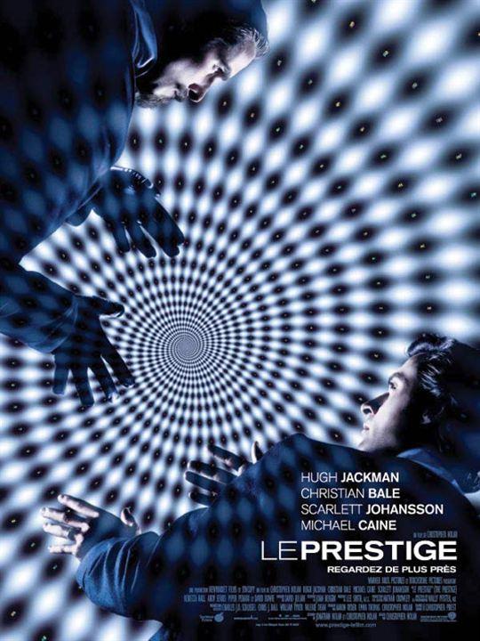 Le Prestige : Affiche Christian Bale, Hugh Jackman