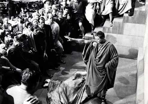 Jules César : Photo Joseph L. Mankiewicz, Marlon Brando