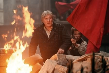 Les Misérables : Photo Gérard Depardieu, Steffen Wink