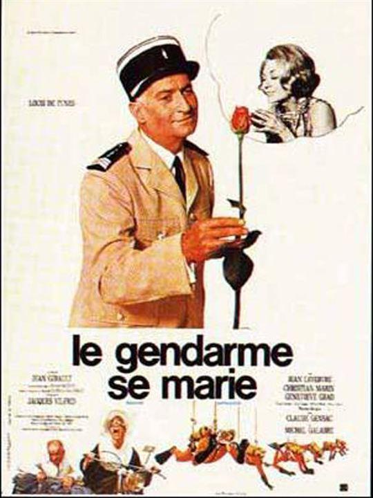 Le Gendarme se marie : affiche