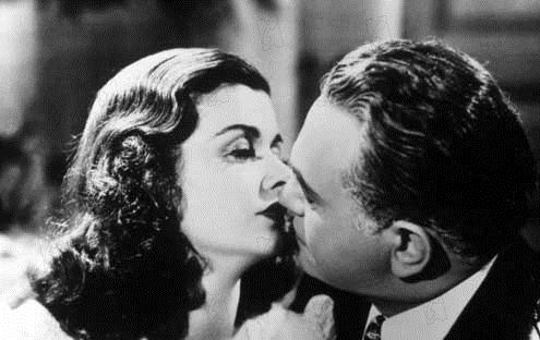 La Rue rouge : Photo Edward G. Robinson, Joan Bennett