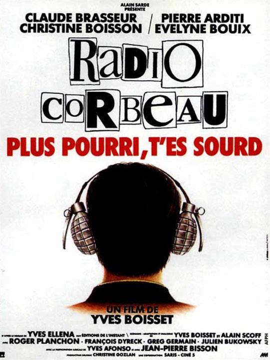 Radio corbeau : affiche