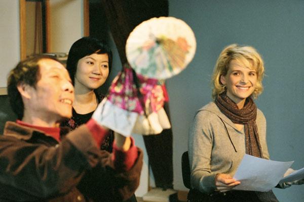 Le voyage du ballon rouge : Photo Fang Song, Juliette Binoche