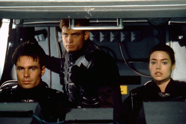 Starship Troopers : Photo Casper Van Dien, Denise Richards, Patrick Muldoon