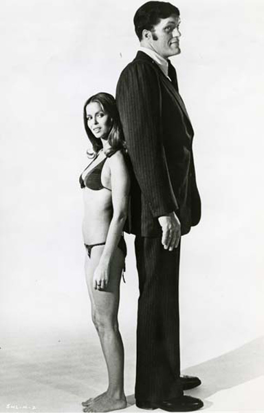 L'espion qui m'aimait : Photo Barbara Bach, Richard Kiel
