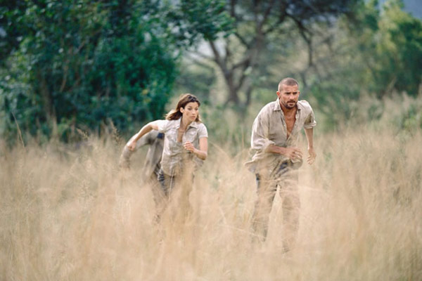 Primeval : Photo Brooke Langton, Dominic Purcell, Michael Katleman