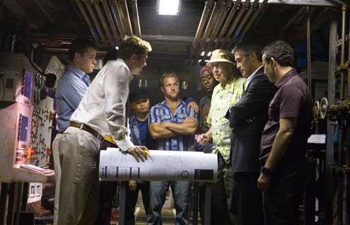 Ocean's 13 : Photo Brad Pitt, George Clooney, Matt Damon