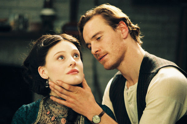 Angel : Photo Michael Fassbender, Romola Garai