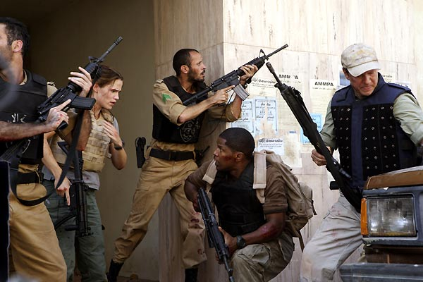 Le Royaume : Photo Ali Suliman, Chris Cooper, Jamie Foxx, Jennifer Garner, Peter Berg
