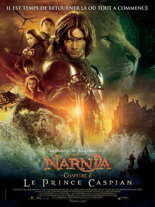 Le Monde de Narnia : Chapitre 2 - Le Prince Caspian : affiche