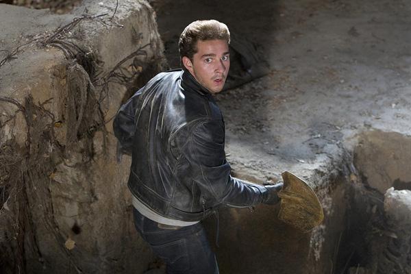 Indiana Jones et le Royaume du Crâne de Cristal : Photo Shia LaBeouf