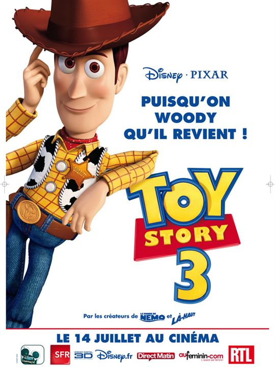 Toy Story 3 : Affiche Lee Unkrich
