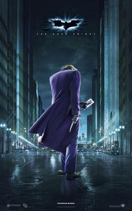 The Dark Knight, Le Chevalier Noir : Affiche