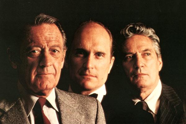 Network, main basse sur la télévision : Photo Peter Finch, Robert Duvall, William Holden