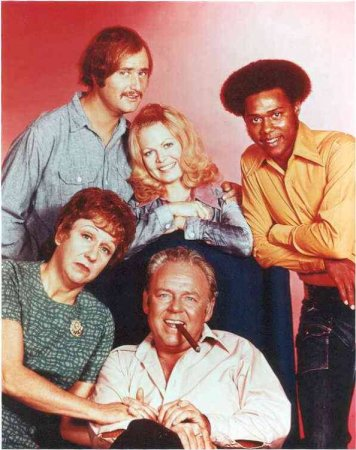 All in the Family : Photo Carroll O'Connor, Jean Stapleton, Mike Evans, Sally Struthers