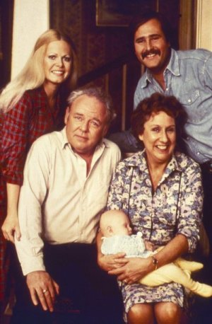 All in the Family : Photo Carroll O'Connor, Jean Stapleton, Rob Reiner, Sally Struthers