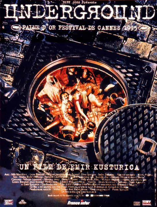 Underground : Affiche Emir Kusturica