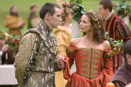 Les Tudors : Photo Gabrielle Anwar, Jonathan Rhys-Meyers