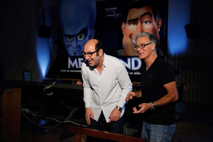 Megamind : Photo Franck Dubosc, Kad Merad