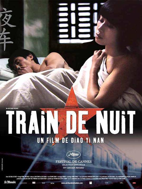 Train de nuit : Affiche