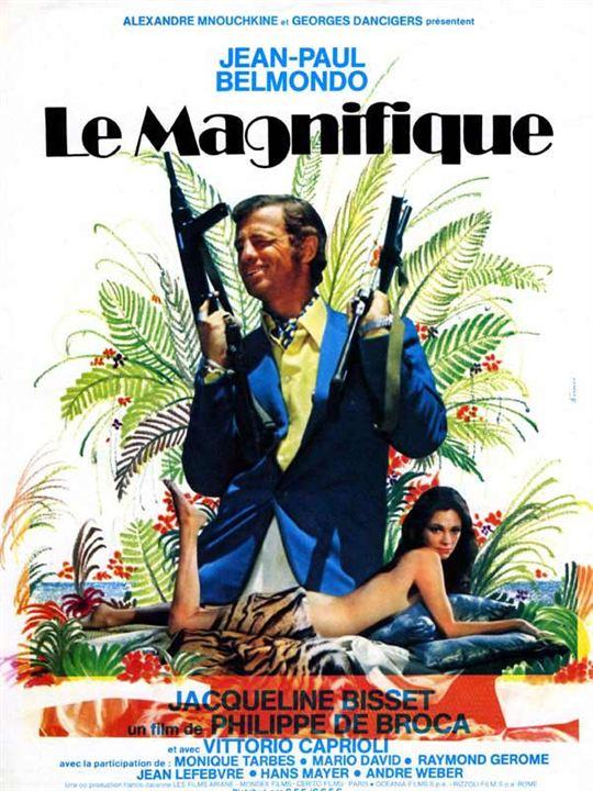 Le Magnifique : Affiche Jacqueline Bisset, Philippe de Broca