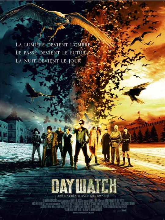 Day Watch : affiche Timur Bekmambetov