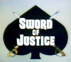 Le Signe de justice : Affiche