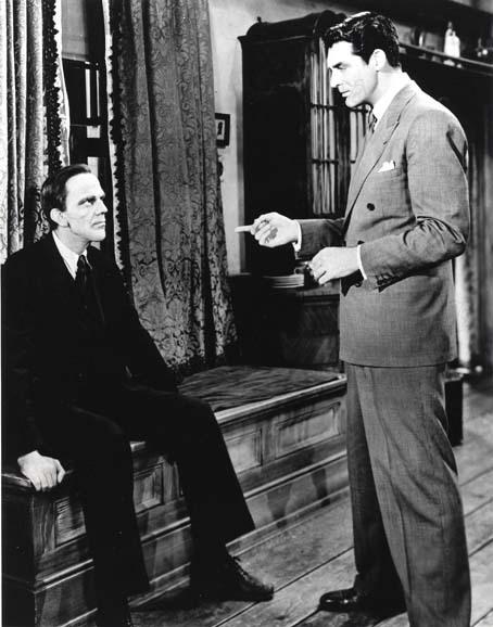 Arsenic et Vieilles Dentelles : Photo Cary Grant, Frank Capra, Raymond Massey