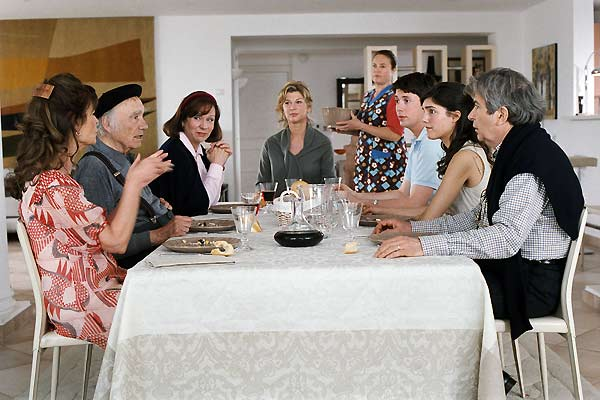 Enfin veuve : Photo Caroline Raynaud, Claire Nadeau, Eva Darlan, Isabelle Mergault, Michèle Laroque