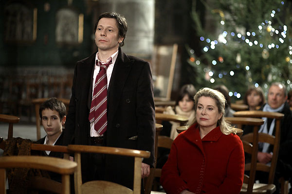 Un conte de Noël : Photo Catherine Deneuve, Mathieu Amalric