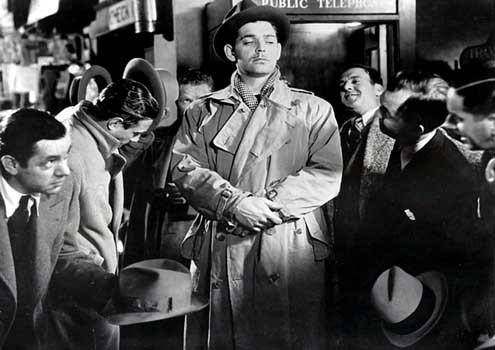 New York-Miami : Photo Clark Gable, Frank Capra